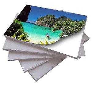 Papel Fotográfico Adesivo Glossy (Brilho) A4 180g - 20 Folhas - 1 Pacote