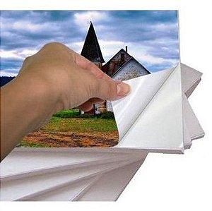 Papel Fotográfico Adesivo Glossy (Brilho) A4 90g - 20 Folhas - 1 Pacote