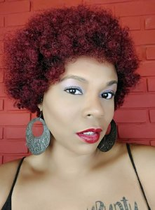 Outre Quick Weave ECO Synthetic Wig Afro (COR:DR425/VERMELHO)
