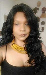 Central das Divas Lace wig Divas (cor: 1b)