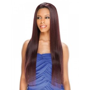 "Freetress Equal Synthetic Lace Front Wig Amerie 28"" (cor 1b)"