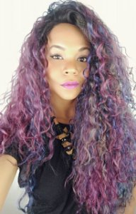 Mane Concept Brown Sugar Soft Swiss Lace Front Wig BS291 (cor:OS1B/SANGRIA)