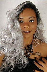 Central das Divas Lace Wig  Divas (COR: 1b/gray)