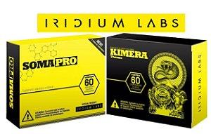 Pró Hormonal Soma Pro + Termogênico Kimera Iridium Labs Orig