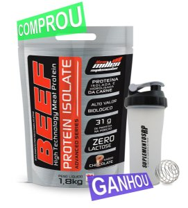Beef Protein Isolate Grátis Shakeira Blender