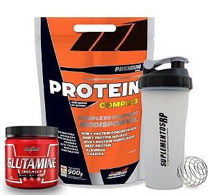 Kit -  Protein Complex 1,8kg + Glutamina 300g  -Shakeira Grátis
