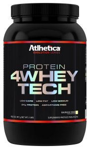 Protein 4 Whey Tech (900g) - Atlhetica