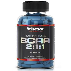 BCAA Time Release 2:1:1 (200tabs) - evolution series