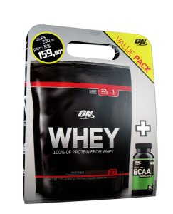 KIT VALUE PACK - OPTIMUM WHEY + BCAA 1000