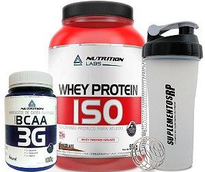 Combo  Whey ISO + BCAA nutrition 3G