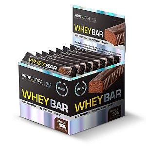 Whey Bar Low Carb caixa com 24 barras - Probiótica