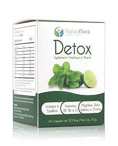 Detox - 500mg  (60 cáps) - Nutreflora