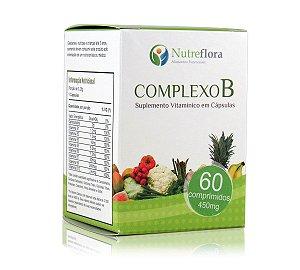 Complexo B (60 cáps)  250mg  - Nutreflora