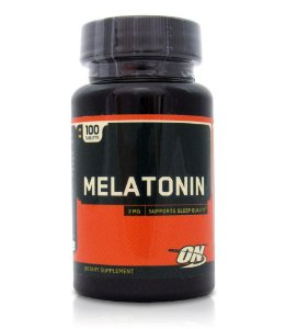 Melatonina Optimun Nutrition - 3 mg - 100 Tablets