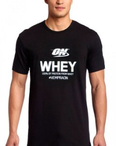 Camiseta - ON Whey - Optimum Nutrition