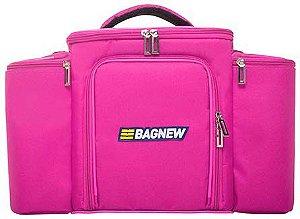 Bolsa Térmica Fitness Grande com acessórios - rosa