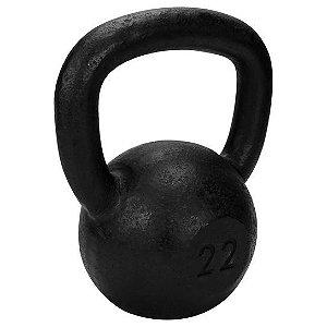 Kettlebell de 22 kg de ferro da TURBO FITNESS