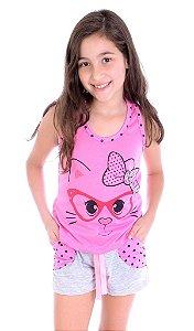 Pijama Infantil Feminino Tal Filha