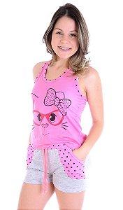 Pijama Short Doll Tal Mãe
