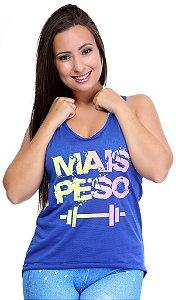 Camiseta Mullet Fitness Furadinha Com Silk