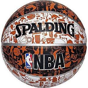BOLA DE BASQUETE NBA GRAFFITI SPALDING