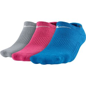 MEIA NIKE KIT 3 PARES CUSHION LOW CUT 34/38 - FEMININO