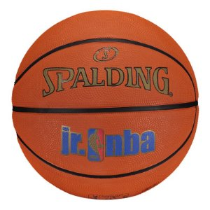 BOLA DE BASQUETE SPALDING NBA RUBBER JR