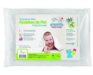 Travesseiro Baby Favinhos de Mel antissufocante