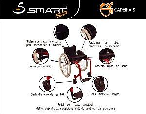 Cadeira de Rodas Smart S