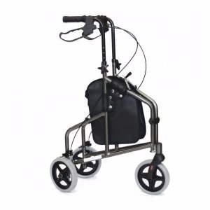 Andador 3 rodas Inspire Prata **(Combinar Forma de Envio)
