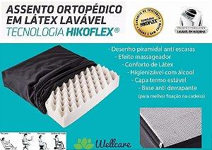 Assento Ortopédico Lavável Casca De Ovo 44x44x09cm Fibrasca
