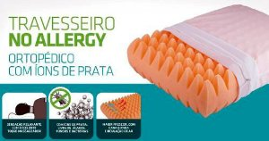 Travesseiro No Allergy Ortopédico