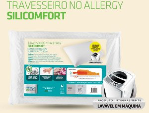 Travesseiro No Allergy Silicomfort
