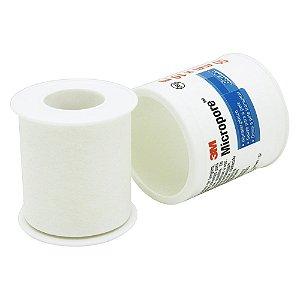 Fita Micropore Branco 3M 50x10