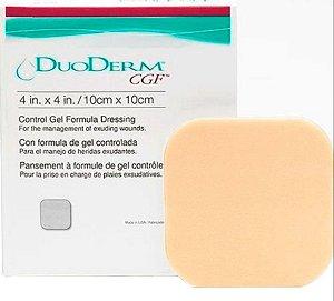 Curativo Duoderm Hidrocoloide CFG Convatec 10X10 Caixa com 5