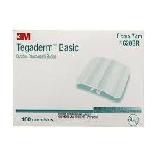 Tegaderm Basic (fixador de cateter) 6x7 cm 1620BR