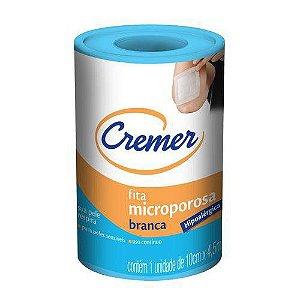 Fita Microporosa Cremer Branca 10cm X 4,5