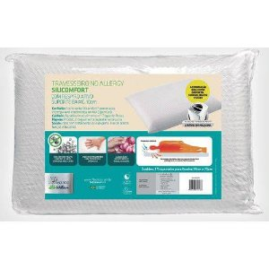 Travesseiro No Allergy Silicomfort Baixo  Fibrasca  Wc2048
