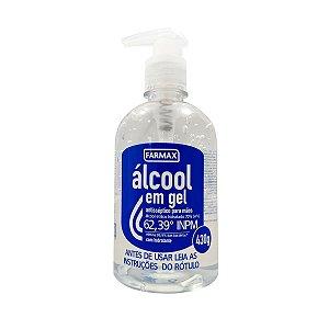 Álcool em Gel 70% 430gr Farmax