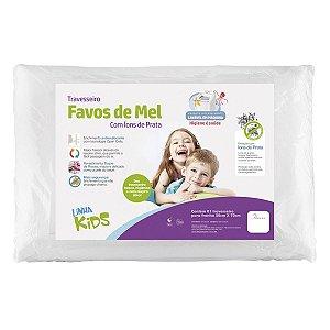 Travesseiro Favos de Mel Kids Antissufocante (+3 ANOS) - Fibrasca