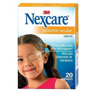 Protetor Ocular Infantil Nexcare Com 20 Unidades