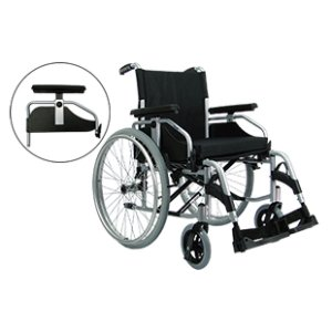 Cadeira de Rodas Munique - Serie Europa - Praxis