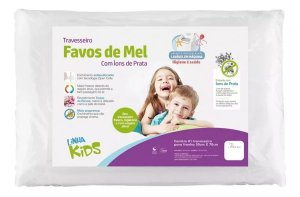 Travesseiro Favos De Mel Kids 10 Cm