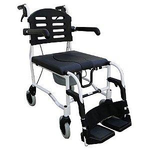 Cadeira de Banho Para Higienização Com Rodas Praxis (SL-155-6) LT 136