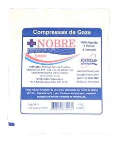 Compressa Gaze Estéril 13 Fios (400x10) Nobre