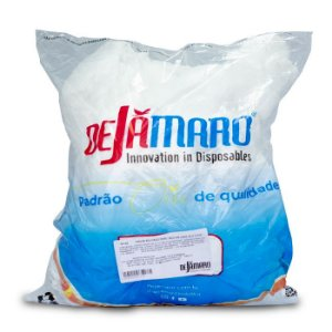 Propé Descartável Branco Com 100 Dejamaro