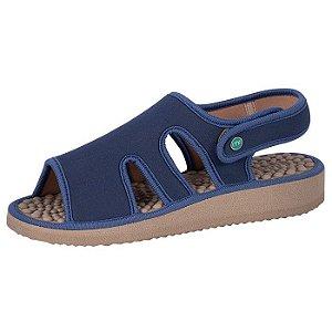 Sandália Vazada Mundoflex Azul-marinho Ref. 1014
