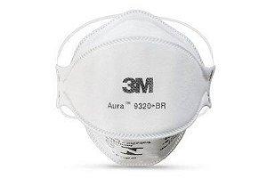 Máscara Respiradora Aura 9320+BR 3M