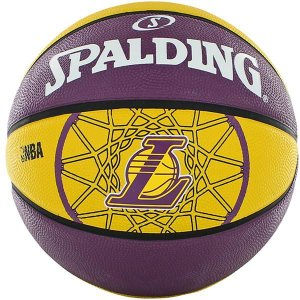 BOLA DE BASQUETE NBA TEAM SERIES OUTDOOR LAKERS