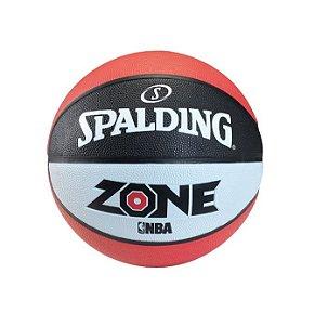 BOLA DE BASQUETE SPALDING  ZONE NBA OUTDOOR COLOR